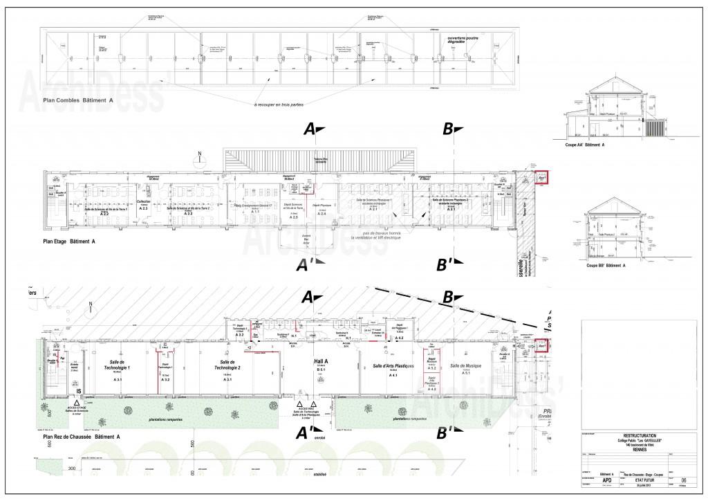 06-APD-CRG-Bât.A Plans Futur