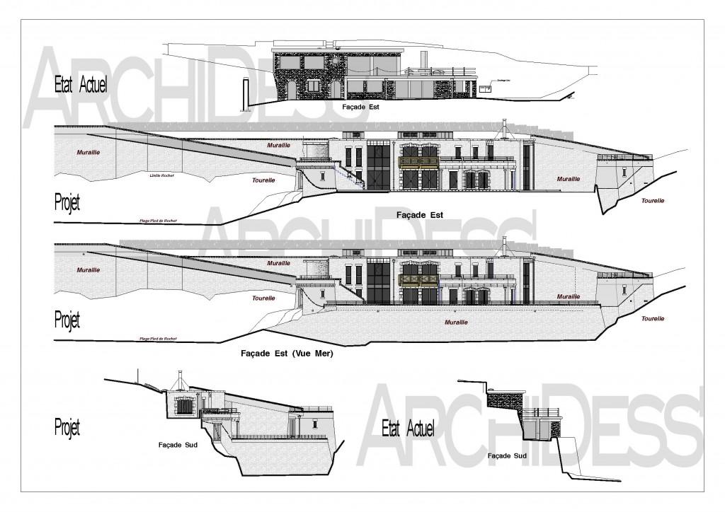 ArchiDess' Plans Ext-Réha 2b